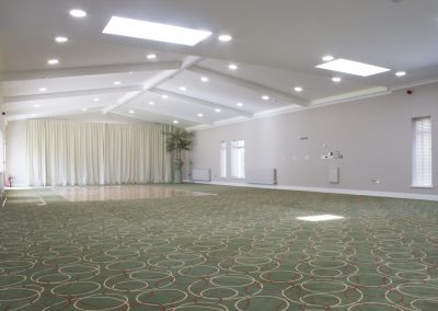 Large function room.